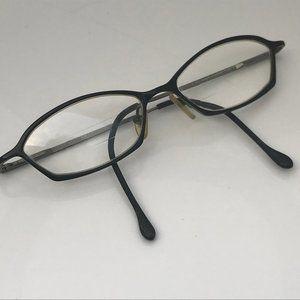 Nine West Eyeglasses Frame NW216 Black Metal Vinta